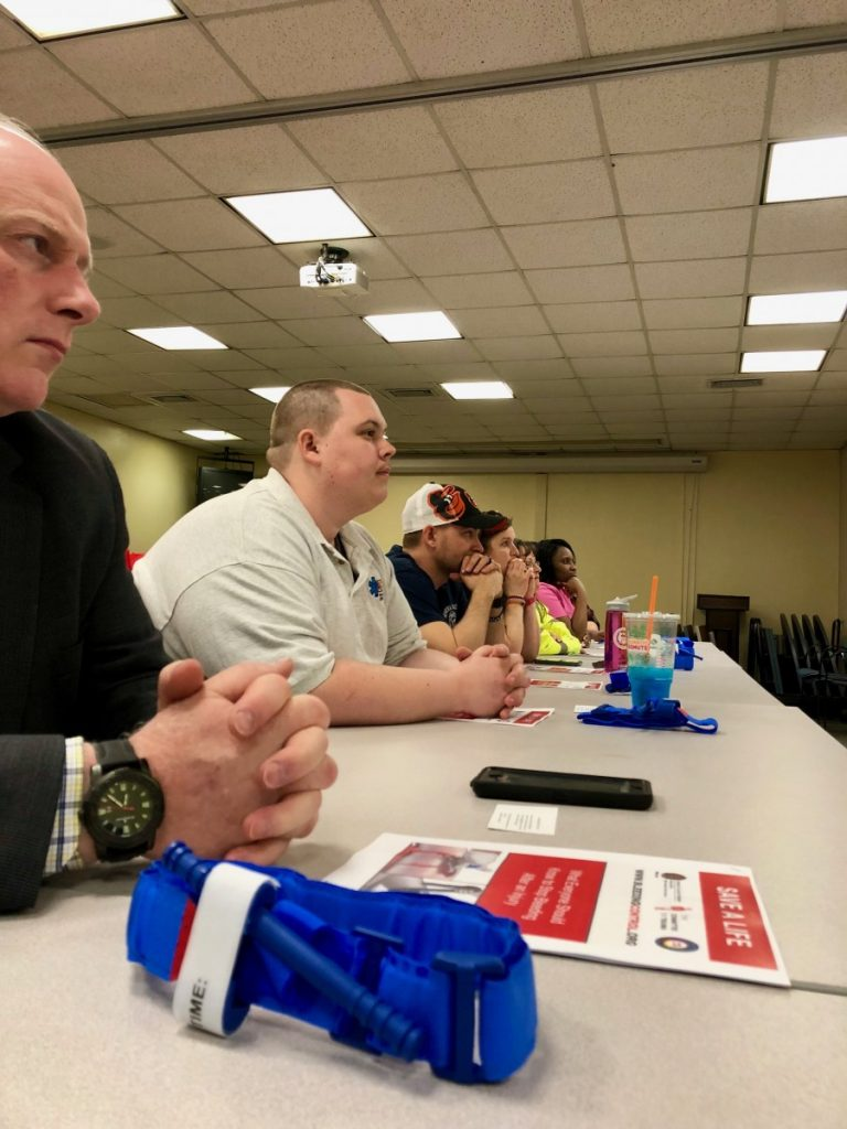"Members attend ""Stop the bleed"" course"