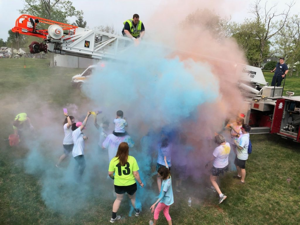 5K Color Run goes off without a hitch